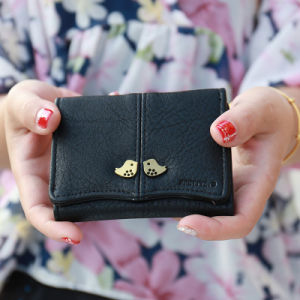 Black Classic Coin Purse and Girls Card Wallet