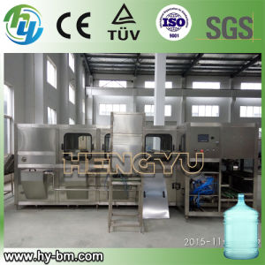 SGS Automatic 5 Gallon Bottle Washing and Filling Machine pictures & photos