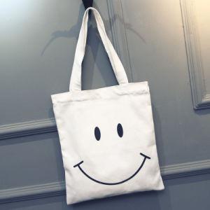 Wholesale Handle Style Custom Design Logo Print Cotton Canvas Bag pictures & photos