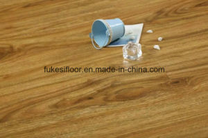 U Groove Mould Pressed Matt Silk Surface Laminate Flooring pictures & photos
