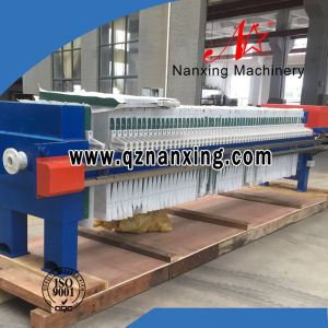 Semi Automatic Hydraulic Chamber Filter Press pictures & photos
