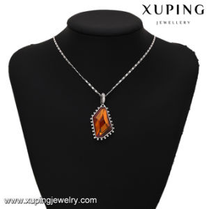 32901 Fashion Unregular Charm Stone Pendant with Crystals From Swarovski Jewelry pictures & photos