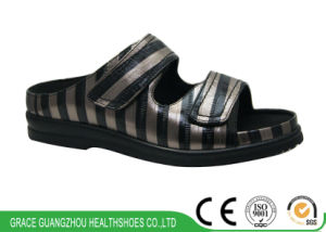 Grace Ortho Footwear Stripe Diabetic Sandal pictures & photos