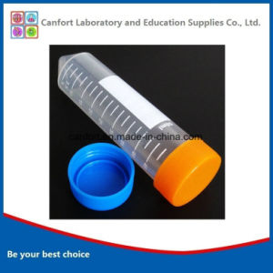 Screw Cap and 50PCS/Bag, 50ml Conical Centrifuge Tube pictures & photos