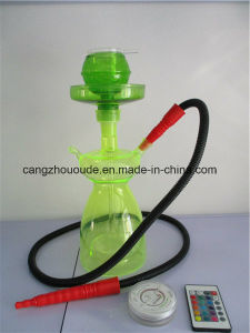 Glass Hookah Shisha Pipe with Color pictures & photos