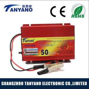 12V 50A Universal Lead Acid Solar Automatic Car Battery Charger pictures & photos