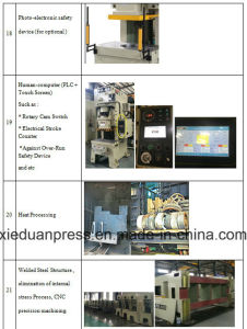 Semi Straight Side Speed Adjustable Mechanical Press pictures & photos