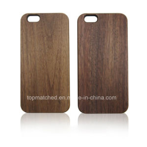 Hot Laser Engraving Blank Custom Design Wholesale Cell Phone Case for iPhone 6 Wood Case pictures & photos