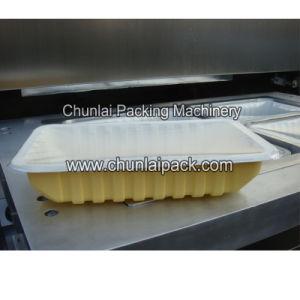 Kis-4 Vertical Type Pneumatic Tray Sealing Machine pictures & photos