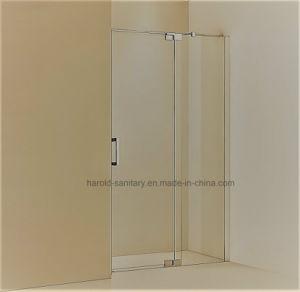 Hr-02-D Glass to Glass Hinge Open Shower Door pictures & photos