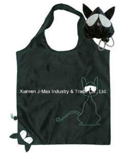 Foldable Shopping Tote Eco Bags, Cat Style, Reusable, Gifts, Promotion pictures & photos