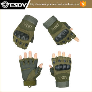 Tactical Airsoft Half Finger Cycling Hunting Military Army Gloves pictures & photos