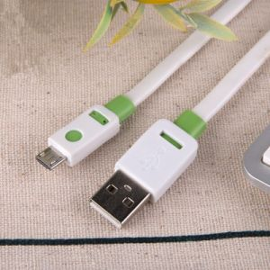 Two Color Flat USB Data Charging Cable Form Shenzhen Facaory pictures & photos