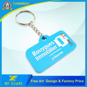 Cheap Customized Any Company Logo 2D/3D PVC Rubber Key Holder for Promotion/Souvenir (XF-KC-P30) pictures & photos