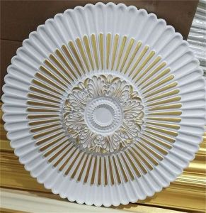 High Quality Polyurethane Foam Ceiling Moulding/PU Ceiling Medallions pictures & photos