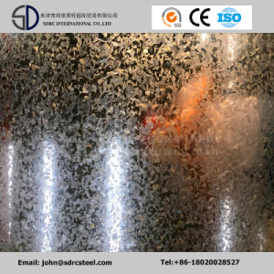 Dx53D Z100 Regular Spangle Accurate Galvanized Steel Coil, Zinc Coated Steel Coil pictures & photos