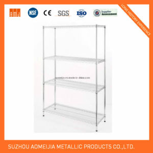Metal Wire Display Exhibition Storage Shelving for Lithuania Shelf pictures & photos