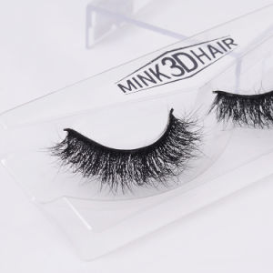 Super Thicker Mink Lashes Nature Real Handmade False Eyelashes pictures & photos