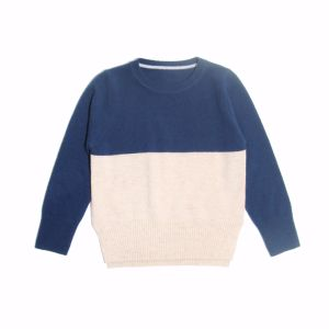 100% Cashmere High-End Knitting/Knitted Sweater for Boys pictures & photos