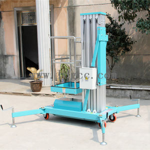 8meters Aluminium Hydraulic Work Lift Platform (GTWY8-100 light blue) pictures & photos