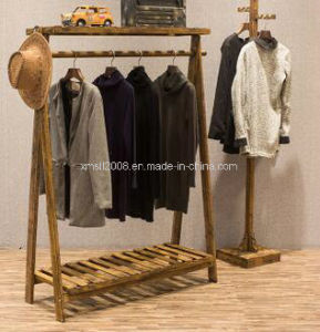 Wooden Display Stand Clothes Garment Rack for Display pictures & photos