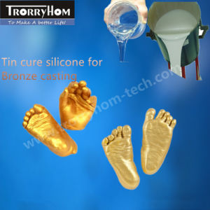 Brushable Silicone Rubber for Casting Bronze Products pictures & photos