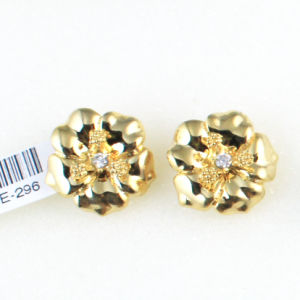 India Luxury Jewelry Sets Zircon Inlay 316L Stainless Steel Earring pictures & photos