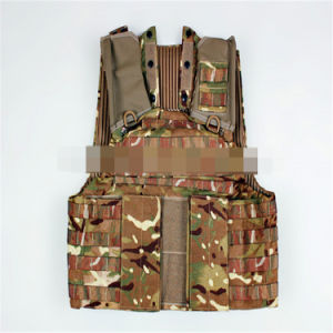 Hot Selling Anti-Stab Safety Anti-Bullet Kevlar Plates Multi-Pockets Military Green Tactical Outdoor Travelling Quick-Release Vest pictures & photos