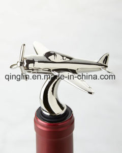Customized Stainless Steel One Rubber Ring Wine Stopper pictures & photos