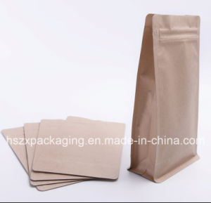 Stand up Kraft Paper Soft Snack Food Packing with Zip pictures & photos