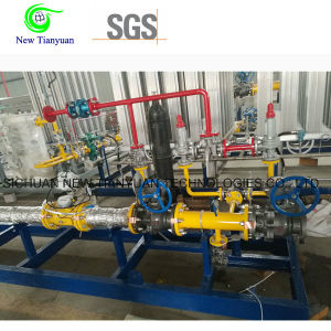 Methane Gas Pressure Regulating & Metering Skid Mounted Station pictures & photos