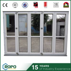 Folding Sliding Glass Door Design, UPVC Bi Folding Doors pictures & photos