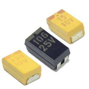 SMD Tantalum Capacitor 25V (TMCT02) pictures & photos