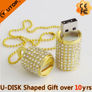 Flashy Beautiful Gift Diamond USB Flash Memory (YT-6272) pictures & photos
