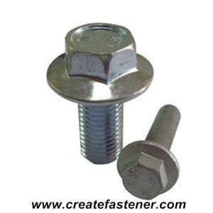 DIN6921 Full Threaded Hex Flange Cap Bolt Class10.9 pictures & photos