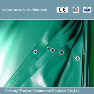 Waterproof PVC Coated Tarpaulin Tent Materials pictures & photos