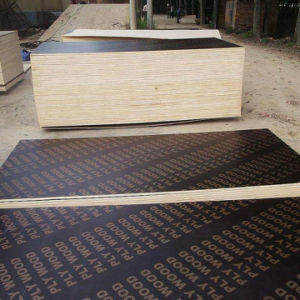 Manufacturer of Poplar Film Faced Plywood for Construction pictures & photos