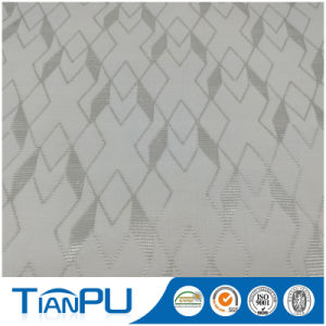 180-550GSM Customized Jacquard Logo Available Fire Retarded (other treatment available) Mattress Ticking Fabric Tp218 pictures & photos
