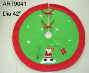 Christmas Decoration Santa Tree Skirt pictures & photos