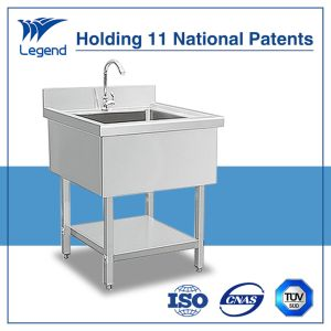 Assembly Commercial Stainless Steel Sink with Single Bowl pictures & photos