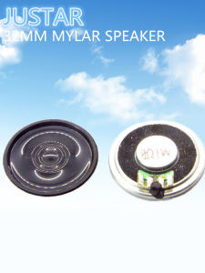 32mm 8ohm 0.5-1.5W Mylar Speaker with RoHS pictures & photos