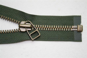 Brass Zipper (7014) pictures & photos