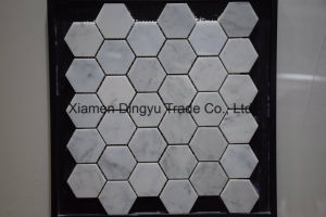 Cheap Water Jet Floor Tile Marble Mosaic for Building Material pictures & photos