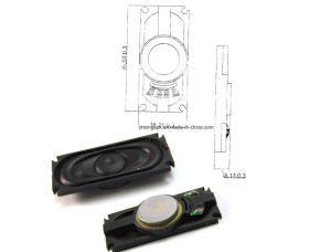 35*16mm 8ohm 1-2W Cloth-Edge Speaker pictures & photos
