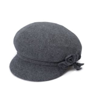 Women′s Wool Beret Cap pictures & photos