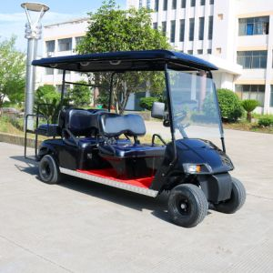 4+2 Seater Electric Golf Cart pictures & photos