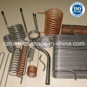 Stainless Steel and Copper Heat Exchanger Coil Spring