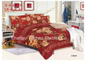 Duvet Cover Bedding Set Polyester Reactive Printing Twill Microfiber pictures & photos