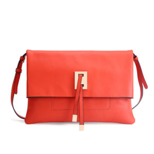 Handmade Leather Handbag Leather Envelope Bag pictures & photos