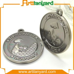 Wholesale Metal Silver Medal with Ribbon pictures & photos